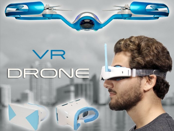 FlyBi Drohne VR-Brille