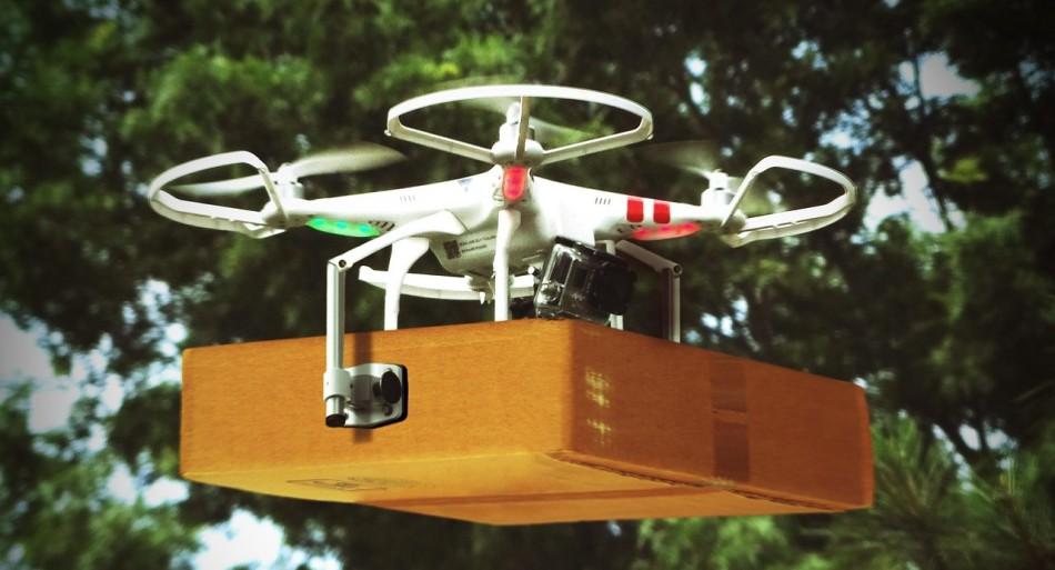 Lieferung per Drohne