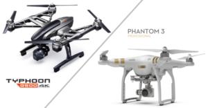 Yuneec Q500 4K vs. DJI Phantom 3 Professional