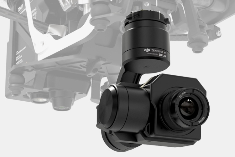 DJI Zenmuse XT Wärmebildkamera - powered by FLIR
