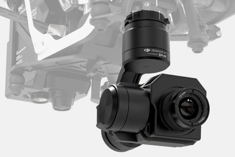 DJI Zenmuse XT Wärmebildkamera - powered by FLIR