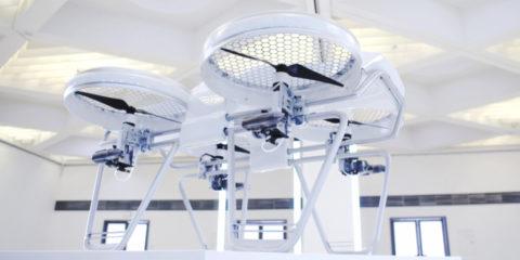 Yeair! - Drohne mit Hybridmotor – 100 kmh schnell, 1 h Flugzeit!