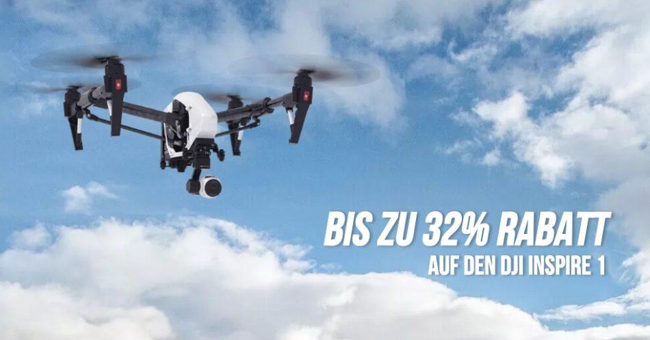 Bis zu 32% Rabatt auf den DJI Inspire 1 V2.0