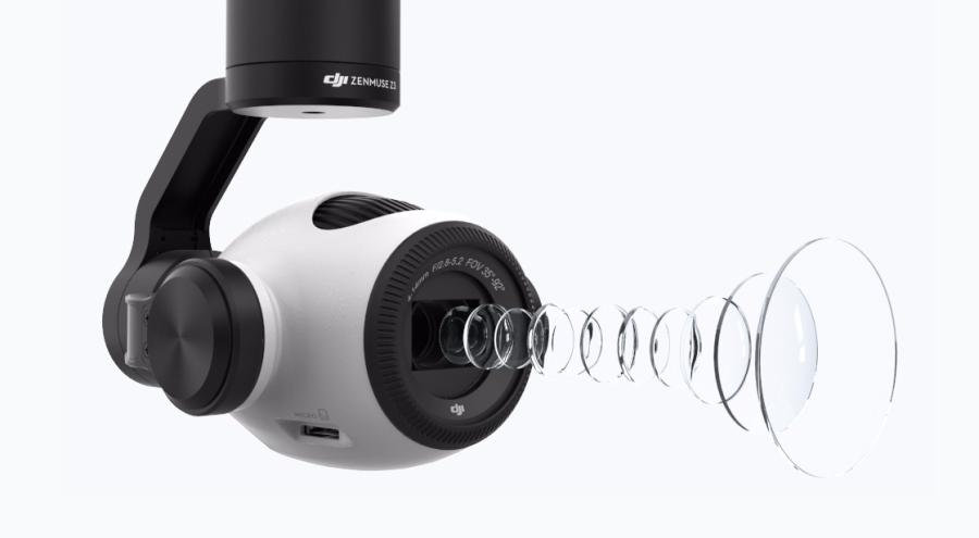 DJI Zenmuse Z3 - die neue Zoom-Kamera für Inspire 1 1