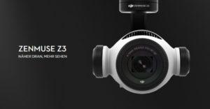 DJI Zenmuse Z3 - die neue Zoom-Kamera für Inspire 1