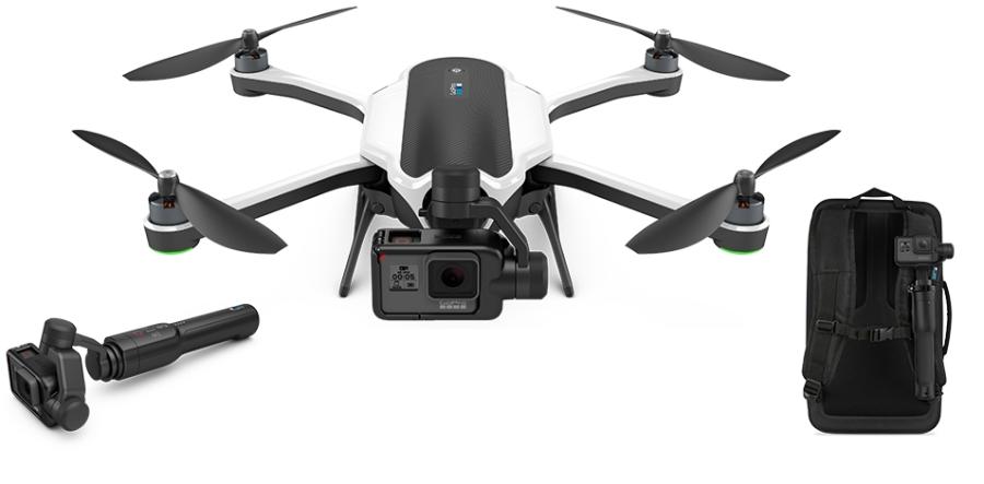 GoPro Karma ist die erste vielseitig einsetzbare Drohne, die wirklich alle Aufnahmemöglichkeiten bietet.