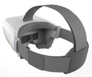 Das SkyView Headset ist auch für Brillenträger ideal geeignet.