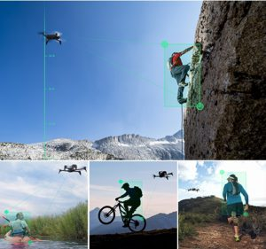 Ob man Fahrrad oder Skateboard fährt oder einfach nur läuft, man kann alle Momente und eigene Leistung jetzt festhalten.